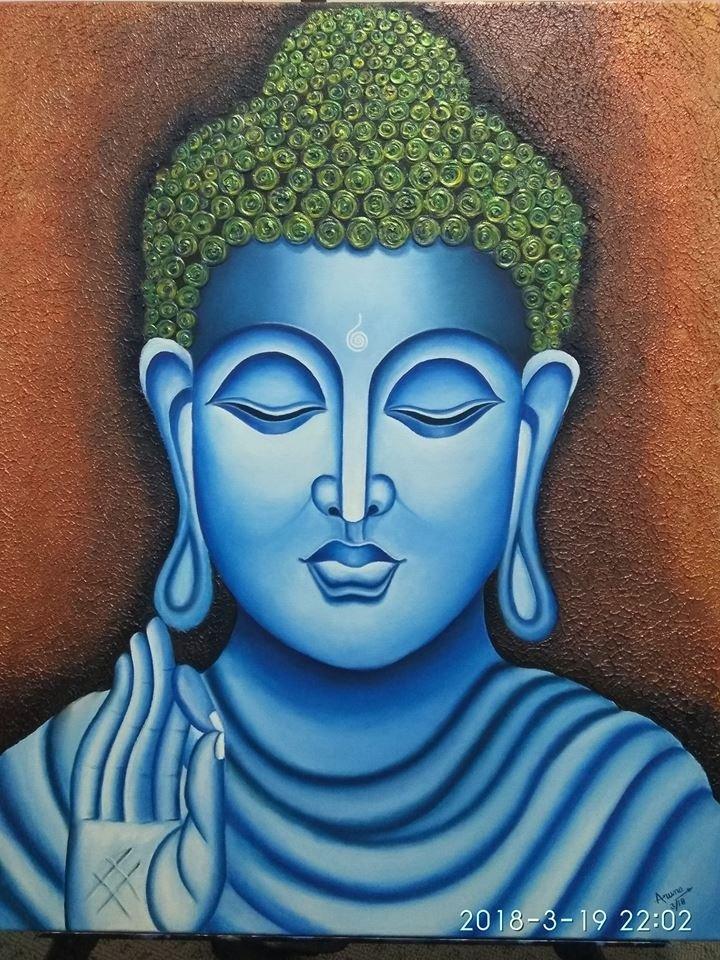 Aruna2-Buddha_Painting