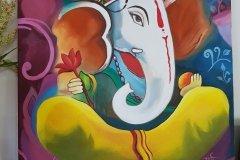 HarpreetKaur1-Ganesha_painting1