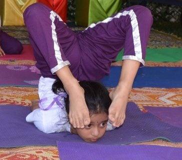 Yoga workshop at Parramasala by Hindu Council