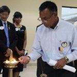 New Lions club president talks up Hindu Benevolent Fund