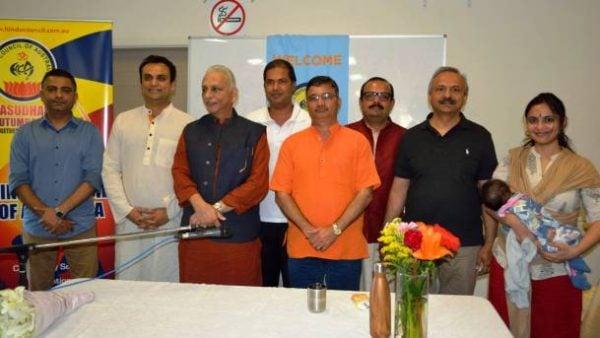 Hindu Council chapter in Victoria hosts Sri M's discourse