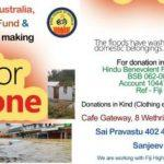 APPEAL to help Flood/Cyclone victims in FIJI