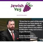 Jewish Veg group promotes vegan lifestyle