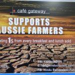 Hindu businesses help drought stricken Australian farmers