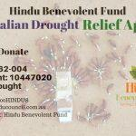 Drought relief appeal by Hindu Benevolent Fund