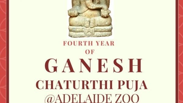 Ganesha Puja held in Adelaide Zoo