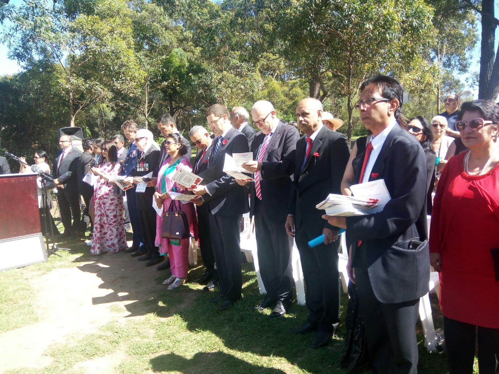 Memorial dedicated to Indian Anzacs to be unveiled in Sydney
