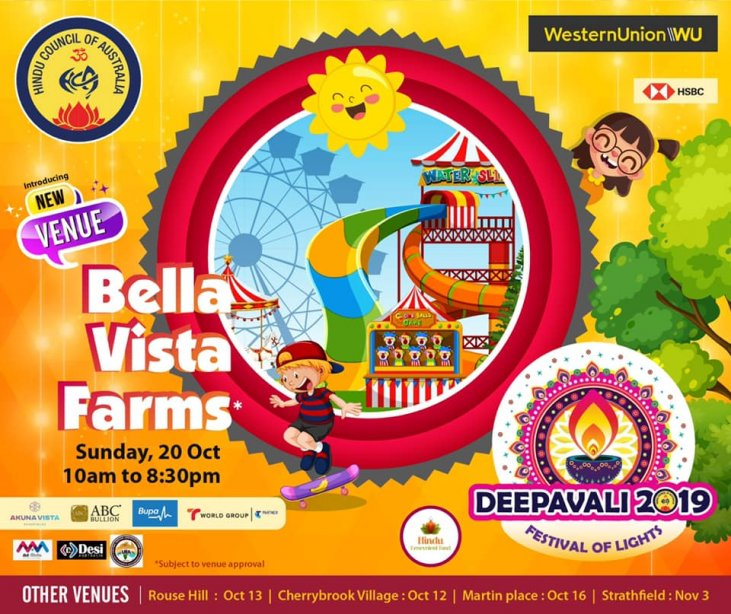 Deepavali2019 is the event for Mum, Dad, Aunty, Uncle
