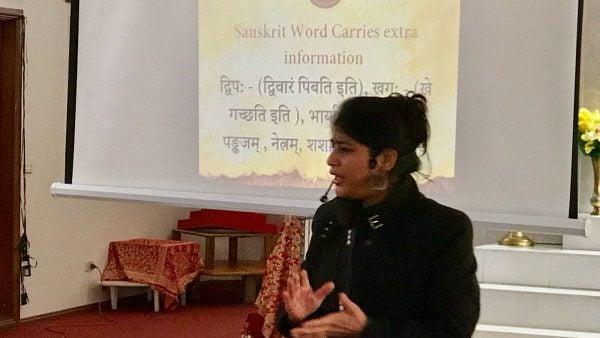 Spoken Sanskrit in Canberra – a roaring success