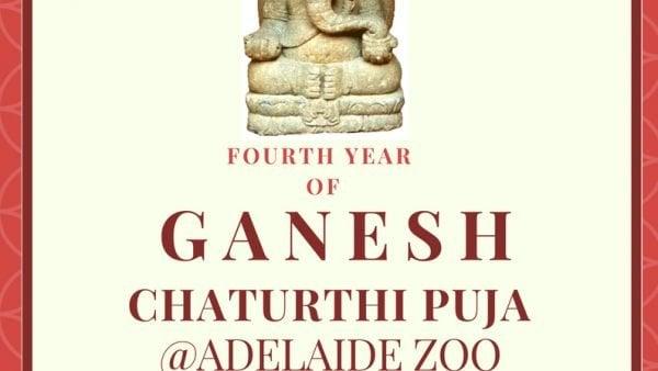 Ganesha Puja held in Adelaide Zoo