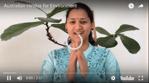 Australian Hindus help environment