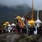 Melasti ceremony for Tengger people: Hoping for peaceful elections