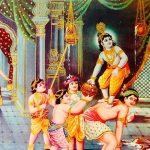 600px-Baby_thief_Krishna_(bazaar_art,_c.1950's)